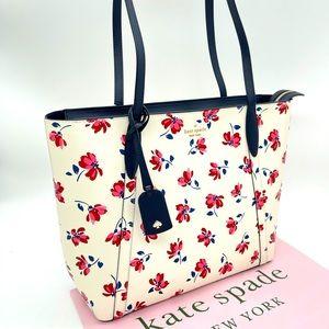 Kate Spade Cara Garden Toss Tote Bag